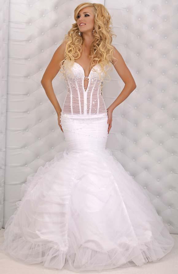 بالصور صور بدلات اعراس , فساتين زفاف 6258 3