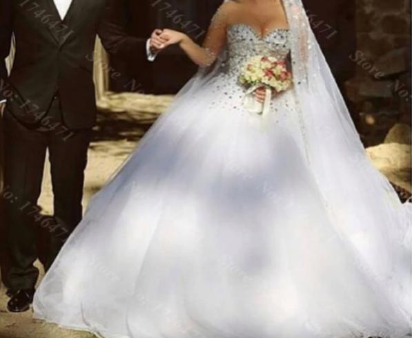 بالصور صور بدلات اعراس , فساتين زفاف 6258 7