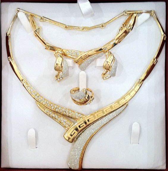 صورة طقم ذهب , افخم اطقم الذهب 1700