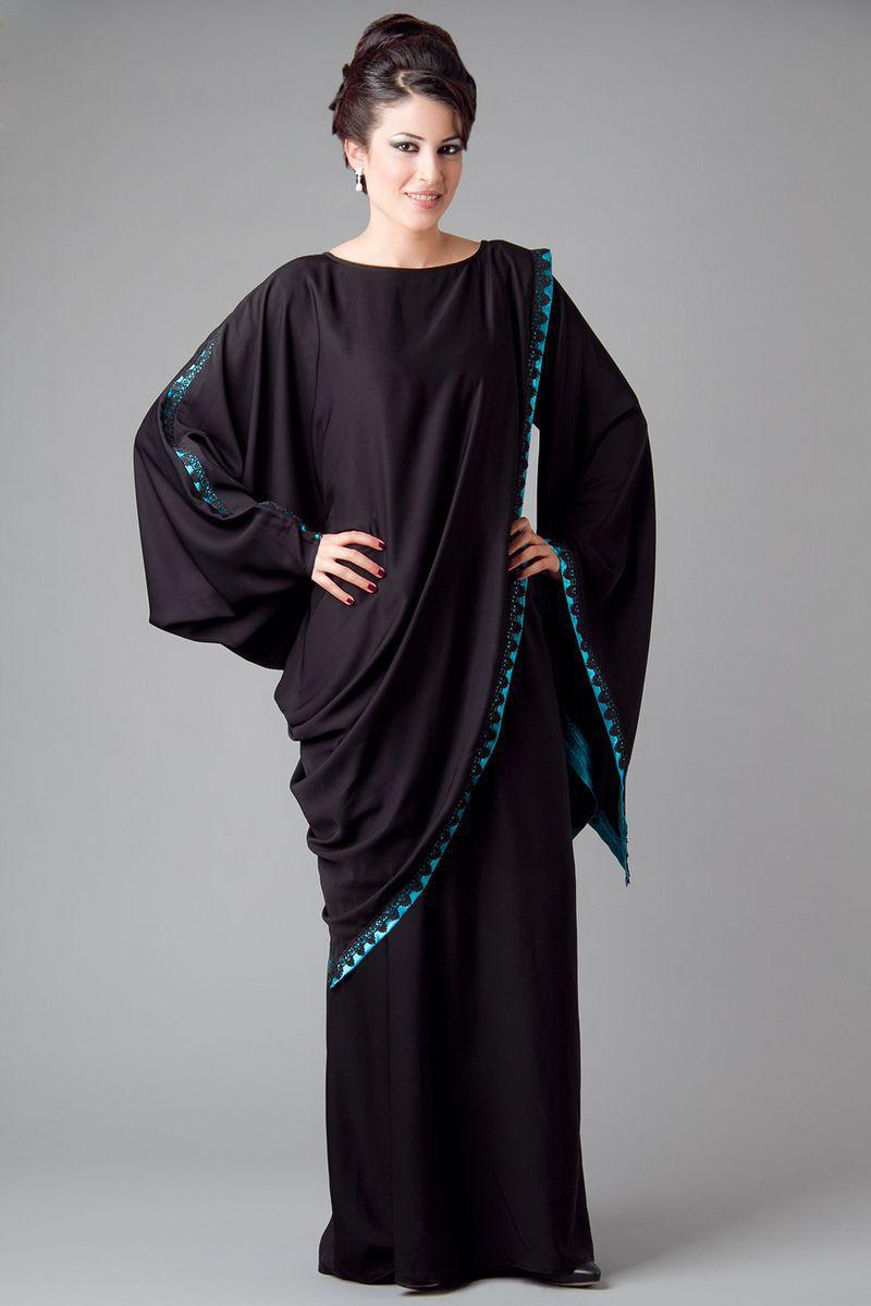 صورة عباية سعودية , اروع التصاميم للعبايه السعوديه
