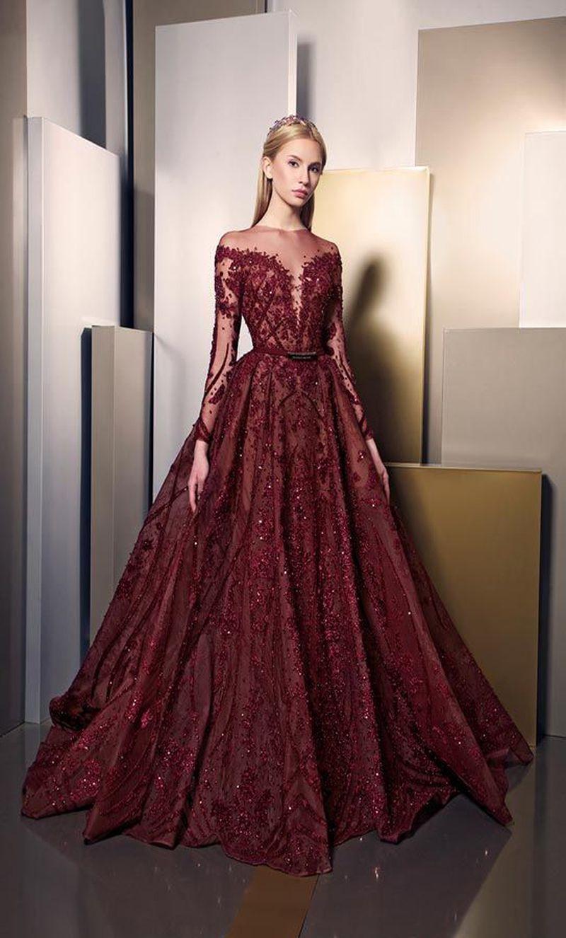 بالصور احدث موديلات الفساتين , صيحات الموضه في الفساتين 3132 2