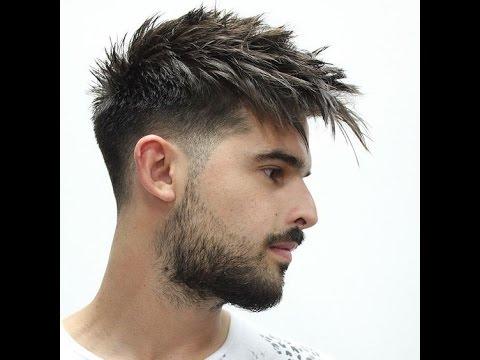 بالصور احدث قصات الشعر للشباب , موضه الشعر الطويل 3553 4