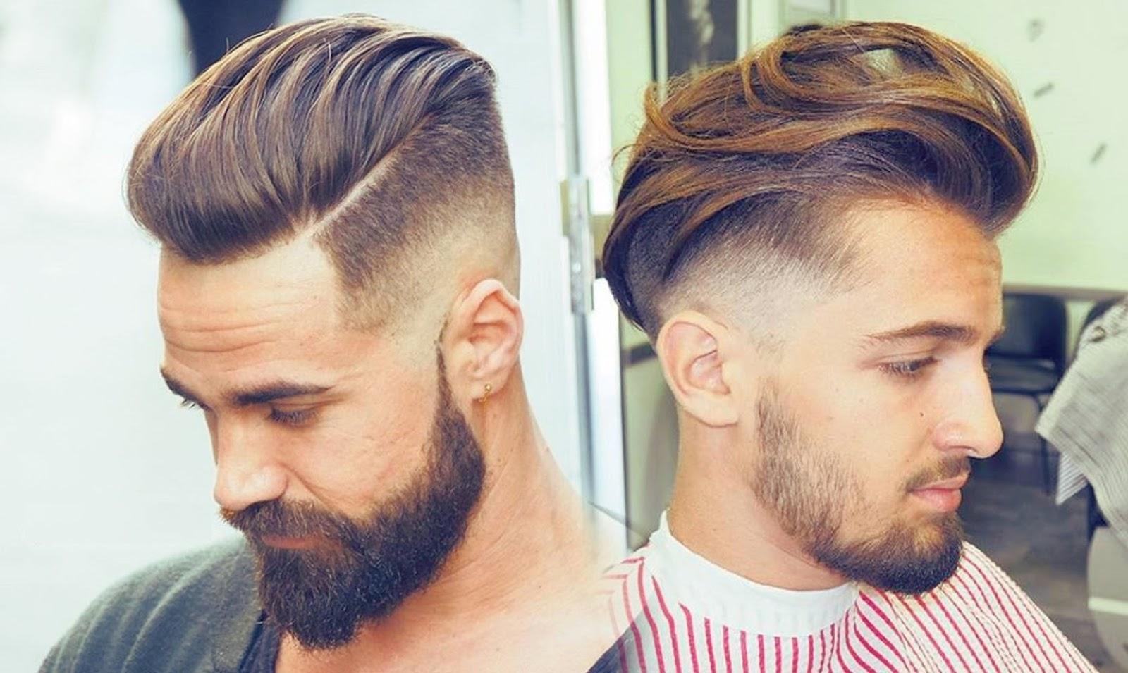بالصور احدث قصات الشعر للشباب , موضه الشعر الطويل 3553 8