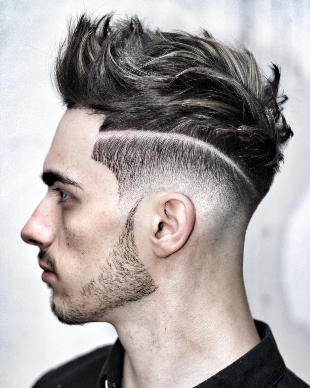 صور احدث قصات الشعر للشباب , موضه الشعر الطويل
