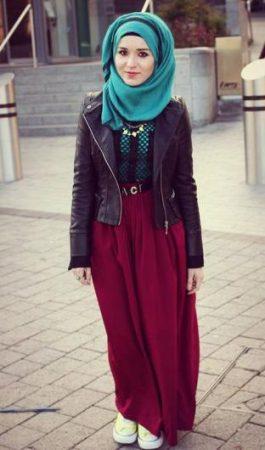 بالصور لبس بنات محجبات , اجمل ملابس المحجبات 4276 1