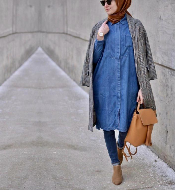 بالصور لبس بنات محجبات , اجمل ملابس المحجبات 4276 11