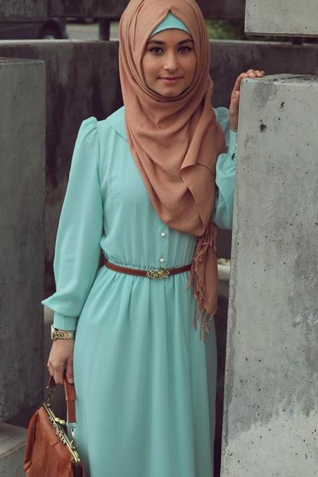 بالصور لبس بنات محجبات , اجمل ملابس المحجبات 4276 4