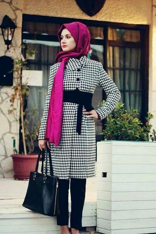 بالصور لبس بنات محجبات , اجمل ملابس المحجبات 4276 7