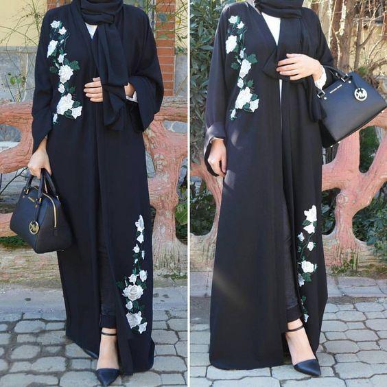 بالصور عبايات اماراتية , ملابس نساء اماراتيه رائعه 4288 9