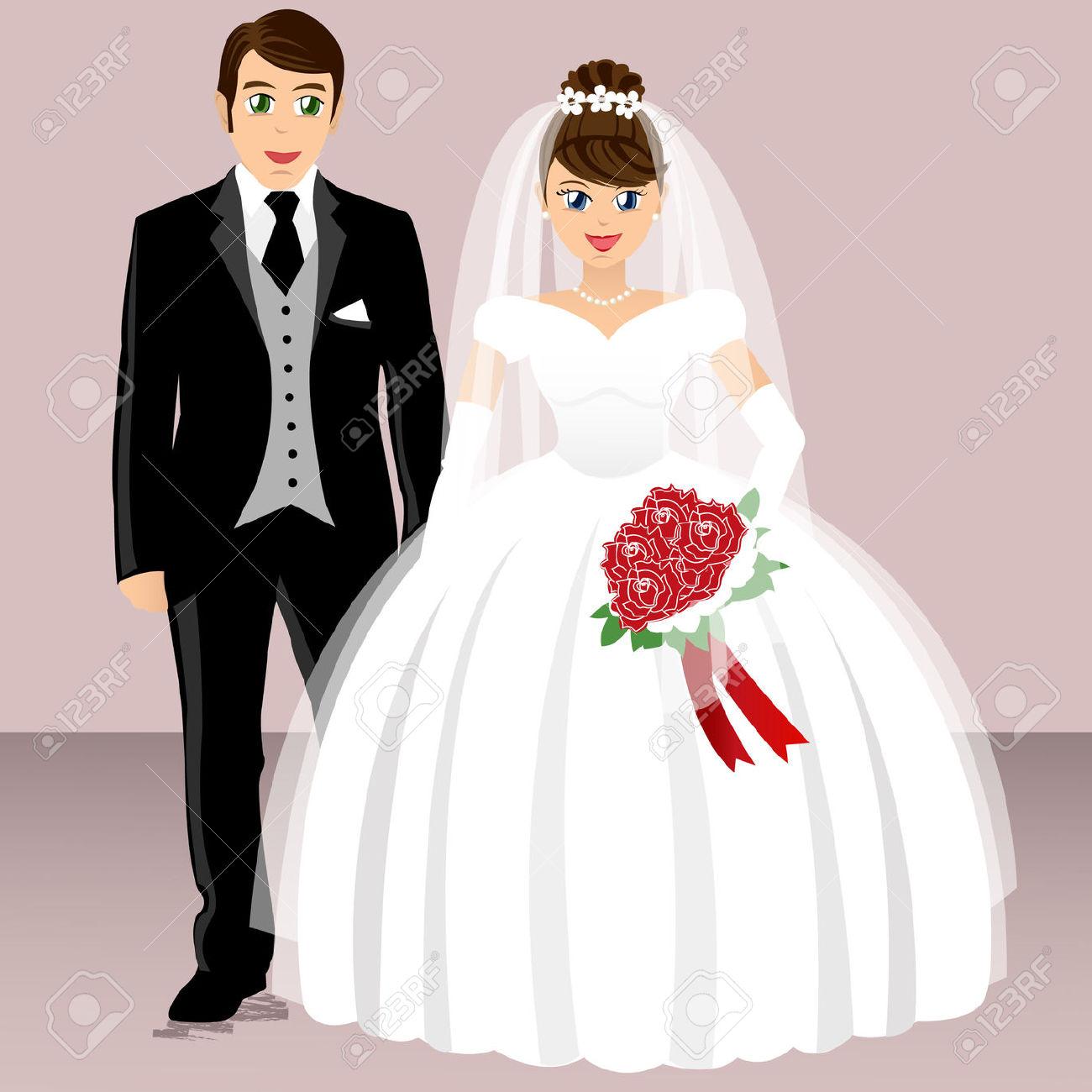 صور عروس وعريس اجمل عريس وعروسه احلا كلام