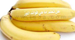 ماهي فوائد الموز , اهم الاكلات المغذية للاطفال