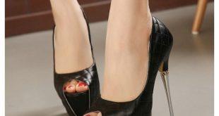 صور احذية كعب عالي , افضل تصاميم الكعب العالى