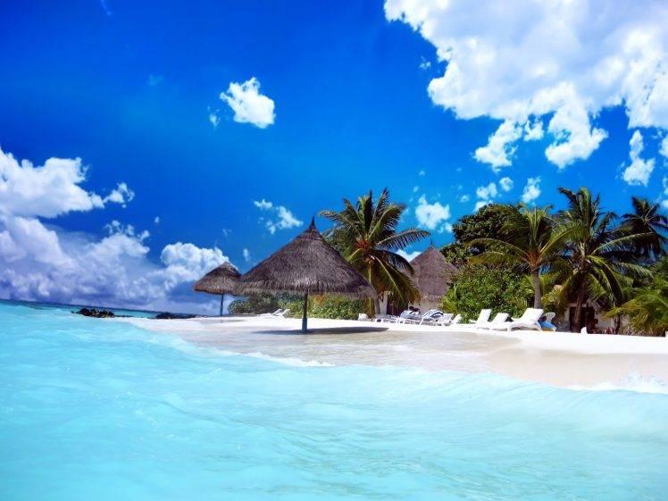 Tropical Paradise Beach Hd Wallpaper For Nexus 7 Screens: خلفيات طبيعية Hd , احلي الخلفيات الطبيعيه