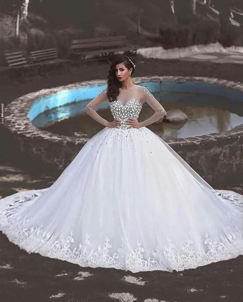 صورة صور فساتين اعراس , احدث صور لفساتين الاعراس