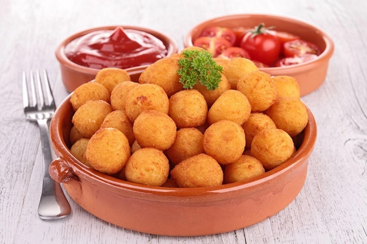 بالصور طريقة عمل كرات البطاطس , كيفيه تقديم كرات البطاطس 3270 2