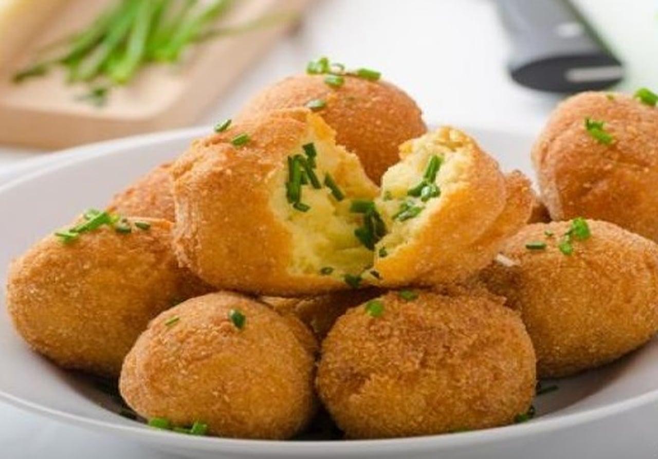 صور طريقة عمل كرات البطاطس , كيفيه تقديم كرات البطاطس