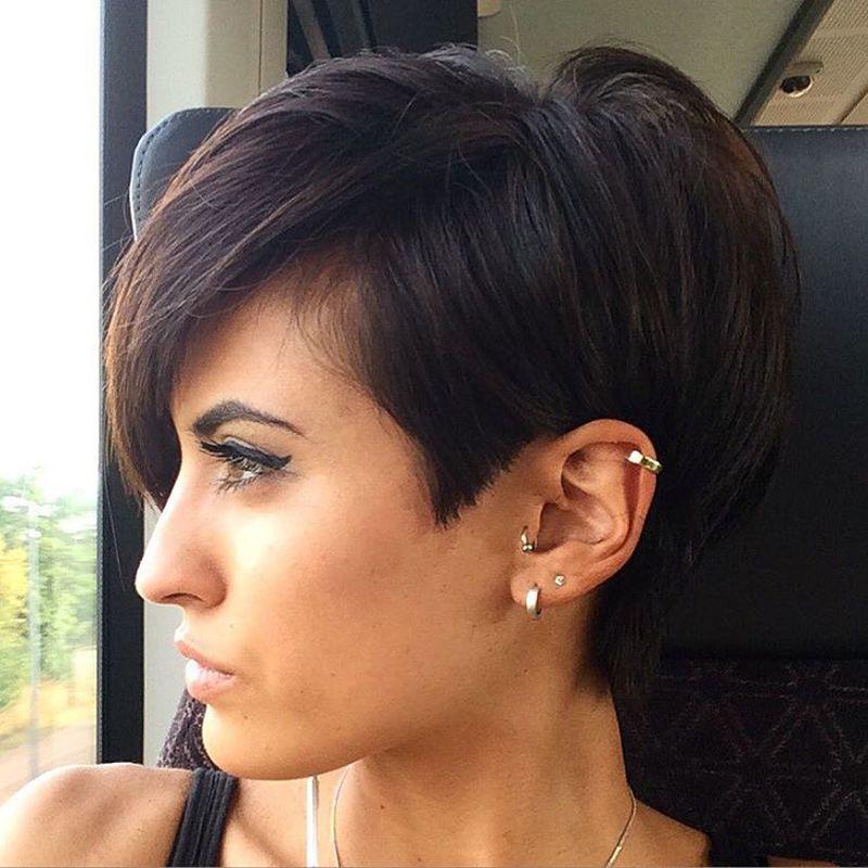 صورة اجمل تسريحات الشعر القصير , احدث و اجمل تسريحات الشعر