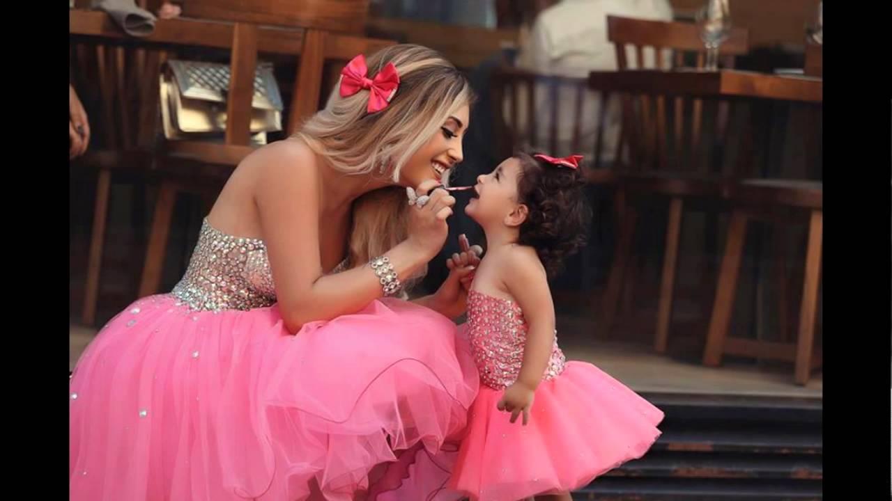 صورة صور بنت وامها , صور بنت و امها تملؤها الحب