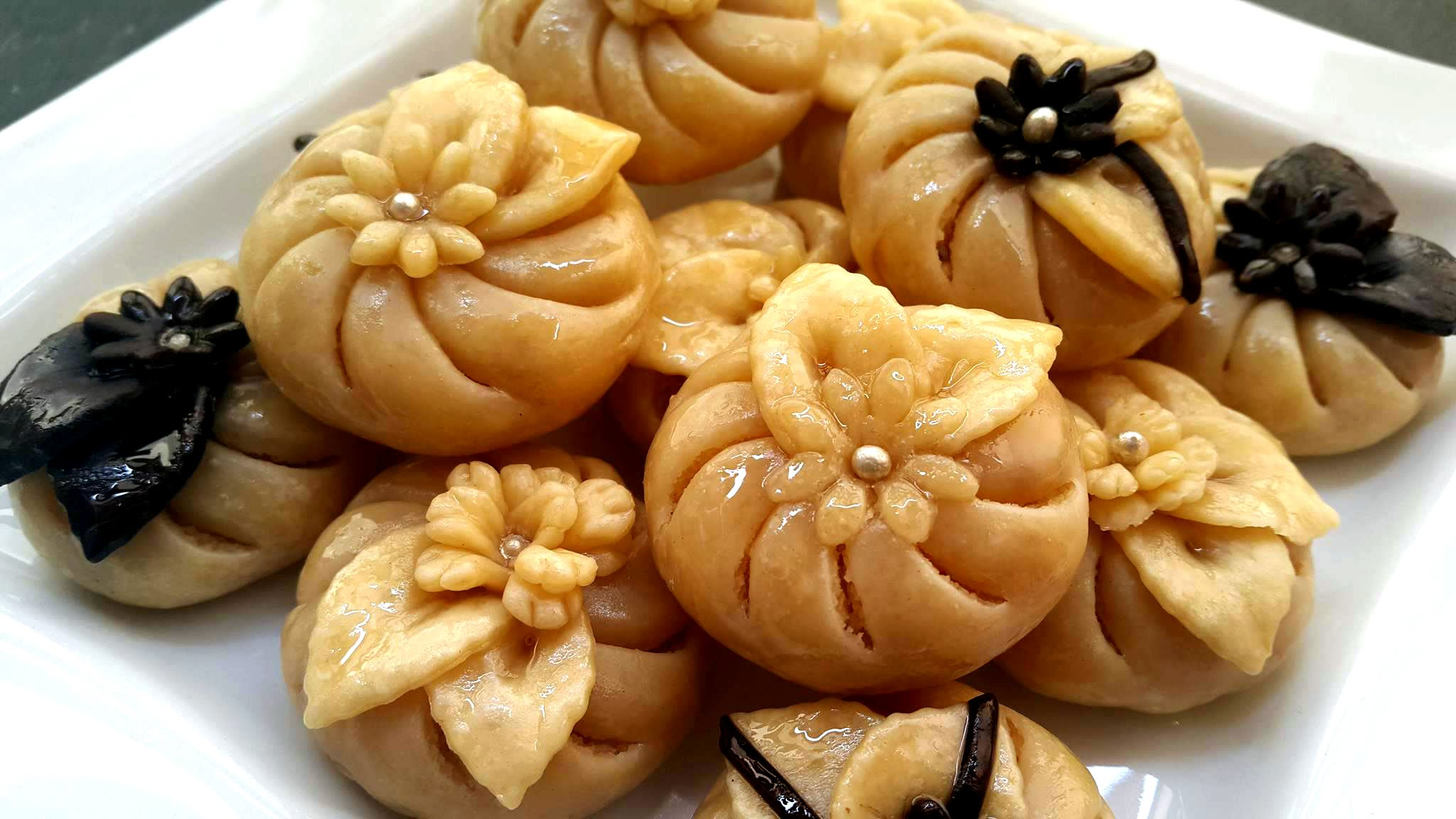 صورة الحلويات المغربية بالصور والمقادير , حلويات مغربيه بطرق مختلفه