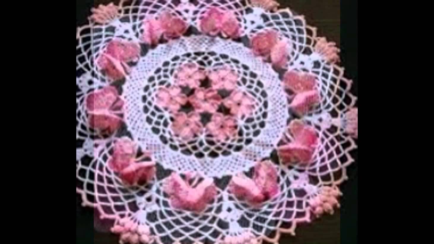 صورة كروشي بالباترون , صور جميله للكروشيه
