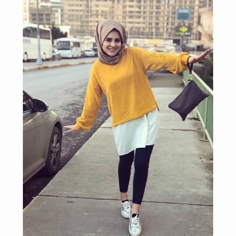 بالصور صورجميلة بنات محجبات , اجمل موضه للملابس المحجبات 3573 11