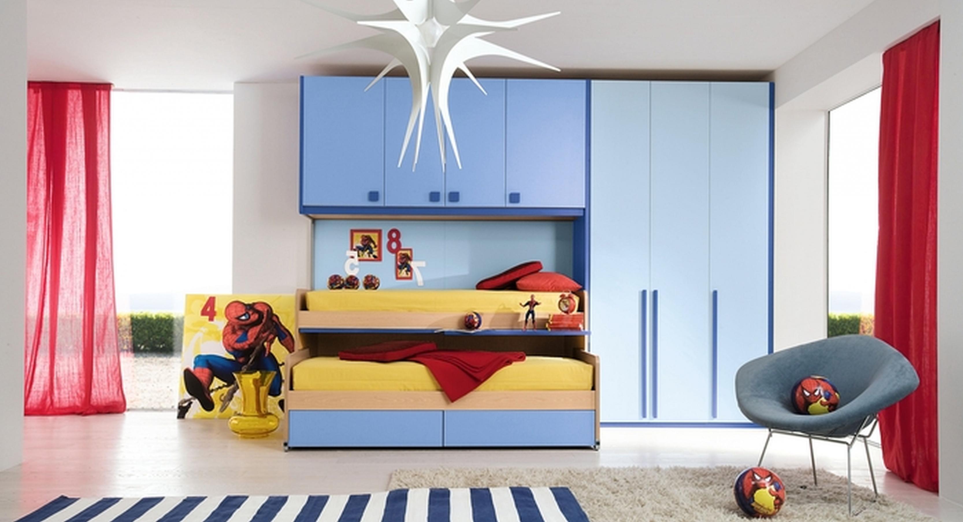 صورة غرف نوم اطفال اولاد , تصاميم غرف اطفال اولاد