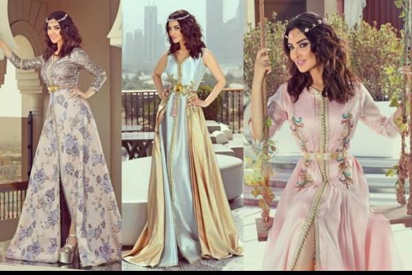 صور جلابيات مغربية , اجمل الفساتين المغربيه لعام 2019