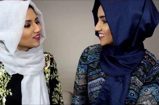 صورة طرق لف الحجاب , تكريم المراة بلبس الحجاب فى الاسلام