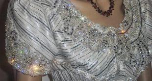 صورة بلوزة وهرانية بالقطيفة , البلوزة الوهرانيه زى الافراح