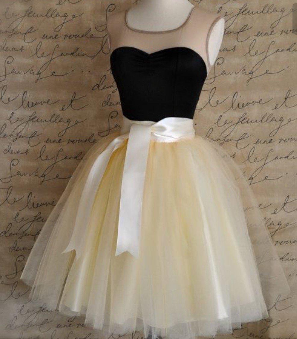 d8cc993ac فساتين قصيرة منفوشة , سر الفستان المنفوش - احلى كلام