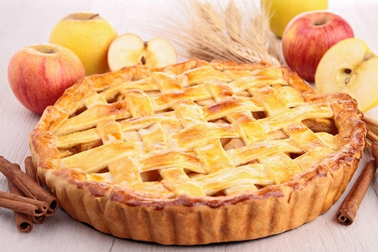 صور طريقة عمل فطيرة التفاح , فطيره التفاح من الفطائر المحبوبه