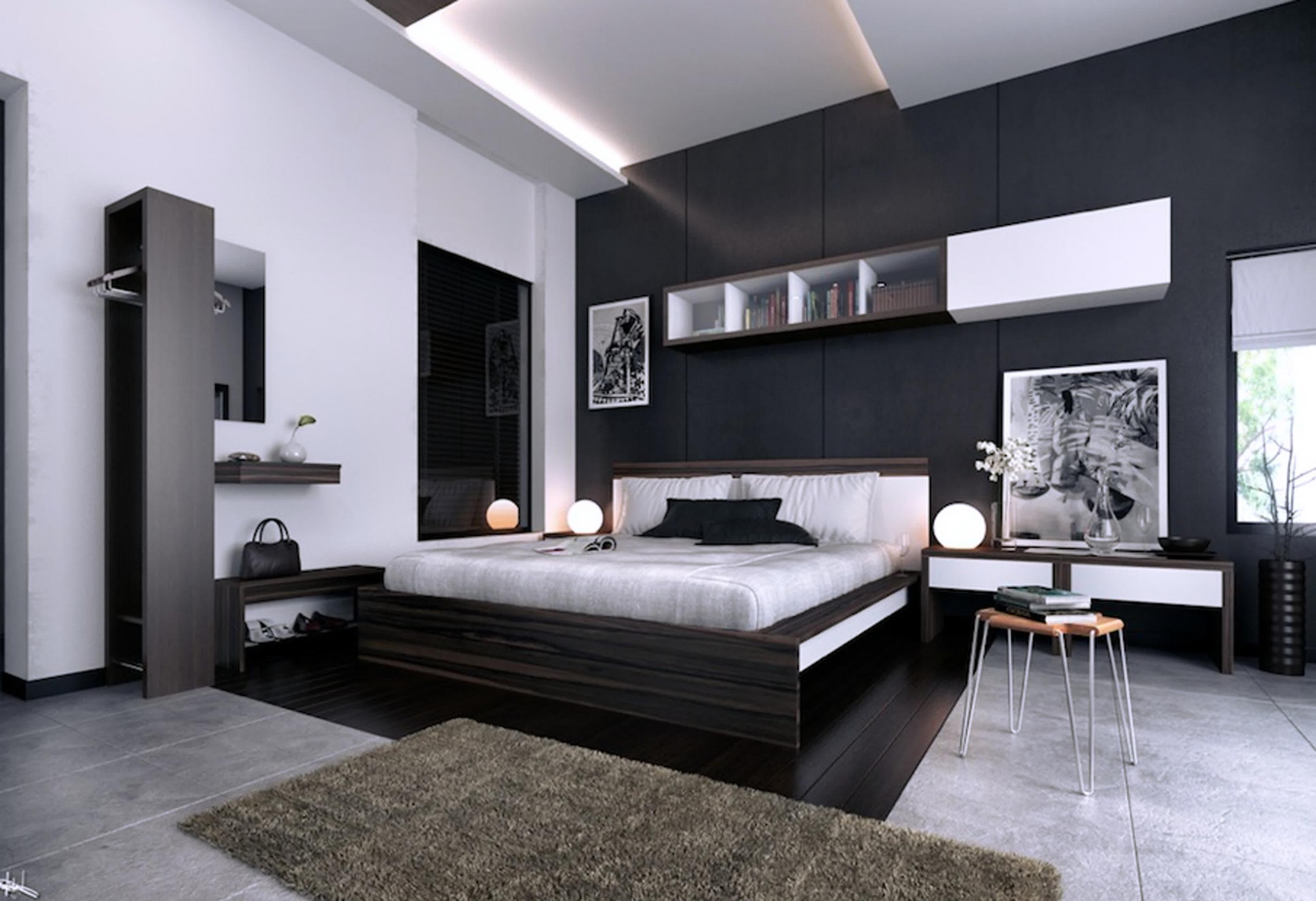 بالصور اجمل ديكورات غرف النوم , غرف نوم مودرن 3389 2