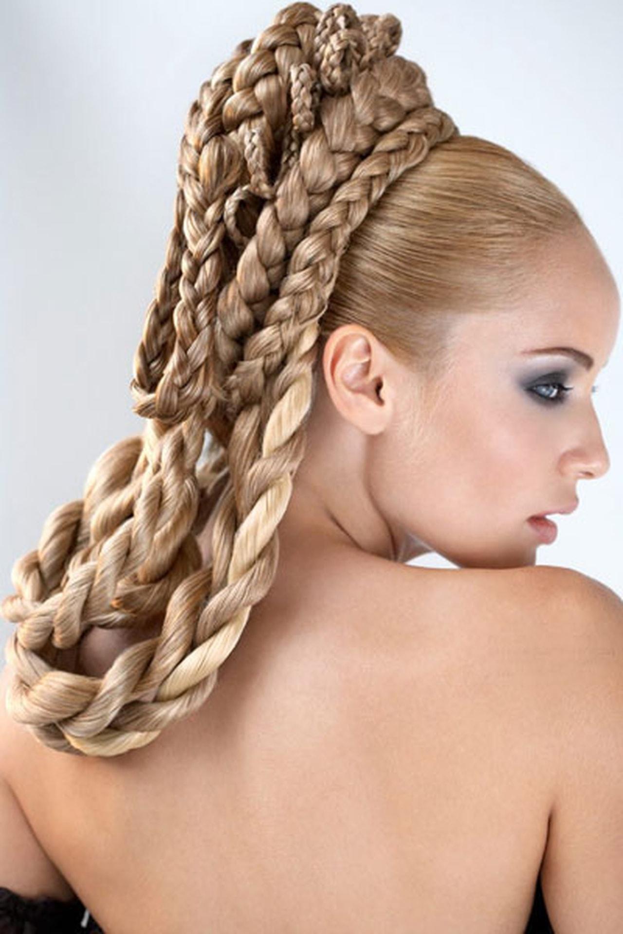 بالصور اجمل تسريحة شعر في العالم , صور اجمل التسريحات عالميه 3495 3