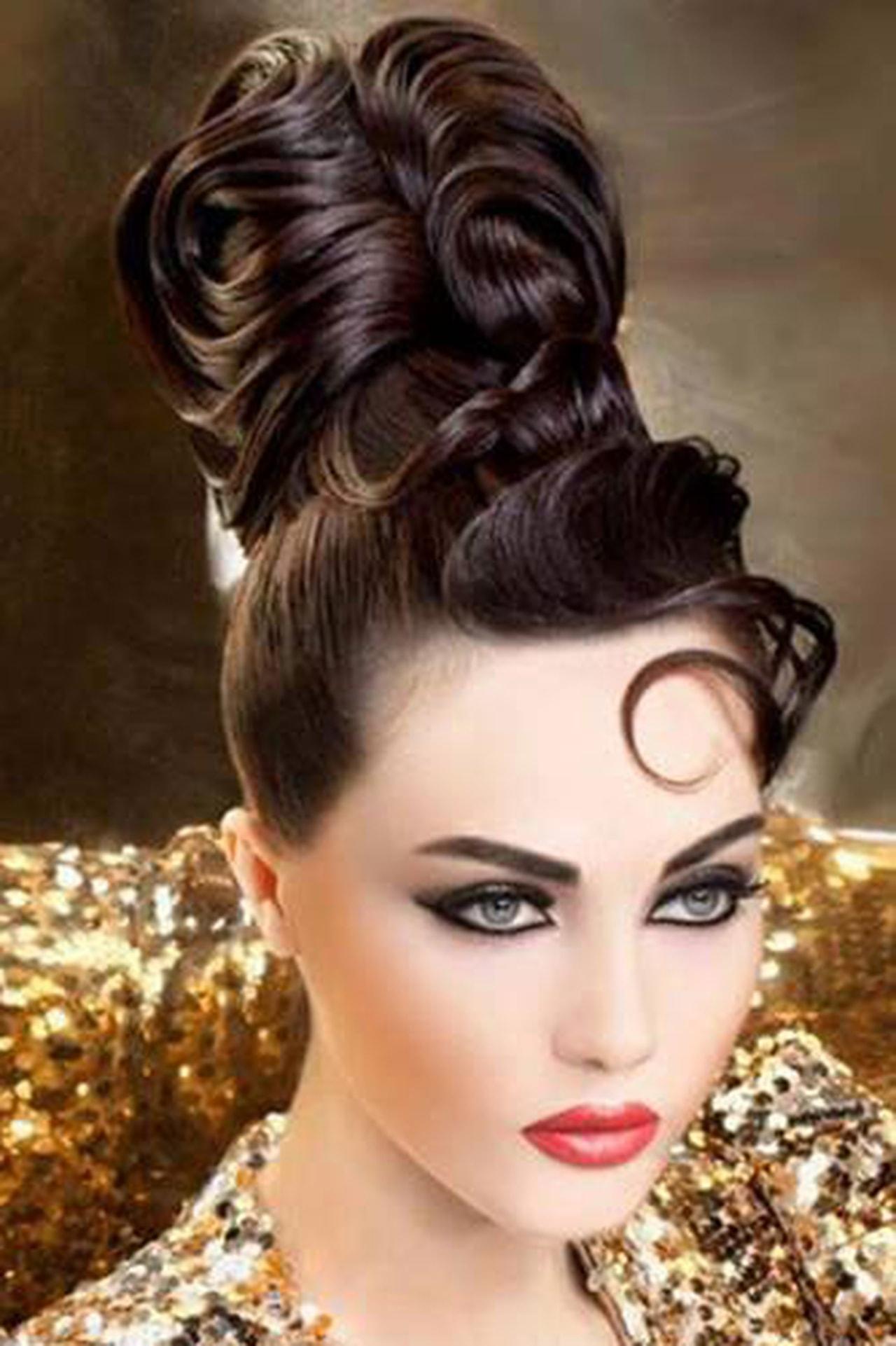 بالصور اجمل تسريحة شعر في العالم , صور اجمل التسريحات عالميه 3495 4