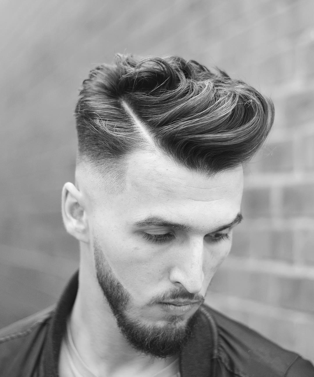 بالصور صور قصات شعر رجالي , اشيك قصات شعر للرجال 3507 3