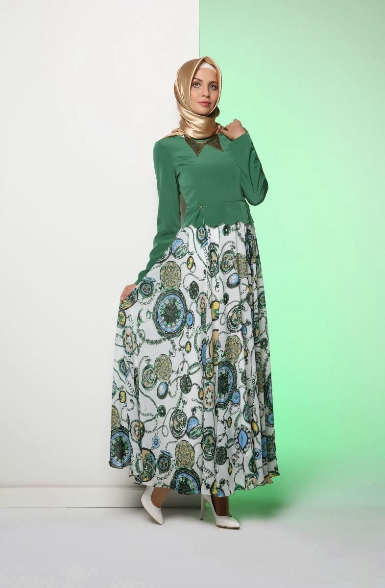 بالصور لباس المحجبات , اجمل ملابس المحجبات 3560 2