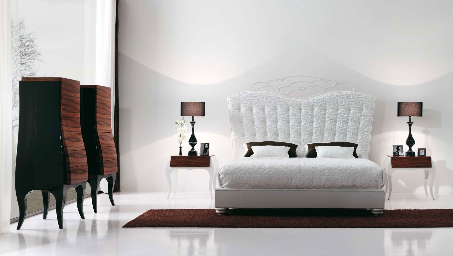 بالصور غرف نوم حديثه , احدث اشكال غرف النوم 3687