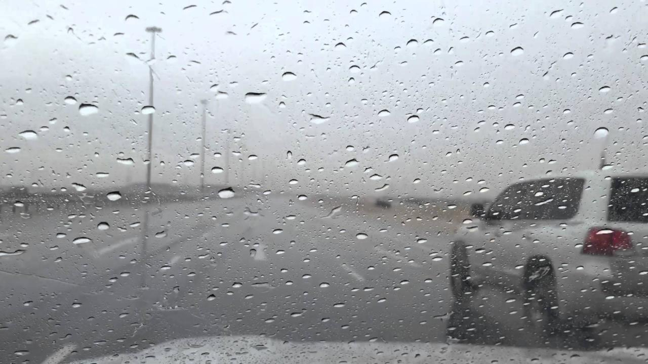 صور عن المطر