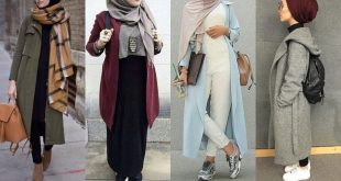 صور ملابس شتوية للمحجبات , احدث موديلات ملابس شتوي محجبات