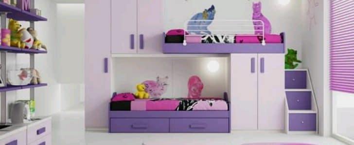 بالصور غرف نوم اطفال مودرن , احدث ديكورات غرف اطفال 4621 4
