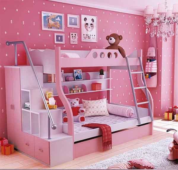 بالصور غرف نوم اطفال مودرن , احدث ديكورات غرف اطفال 4621 5