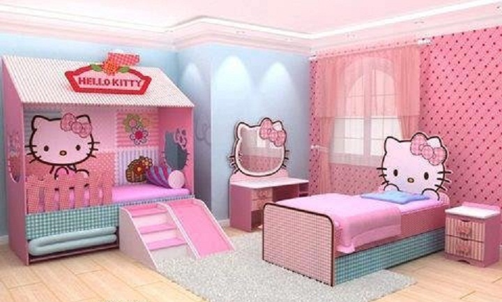 بالصور غرف نوم اطفال مودرن , احدث ديكورات غرف اطفال 4621 8