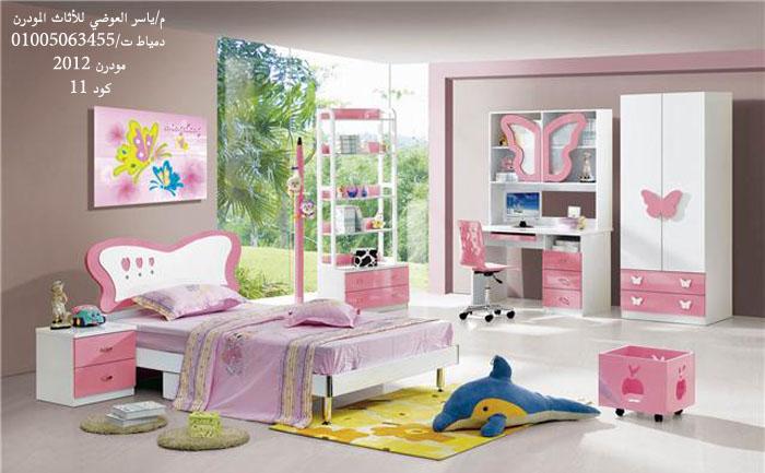 بالصور غرف نوم اطفال مودرن , احدث ديكورات غرف اطفال 4621