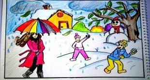 بالصور رسومات عن فصل الشتاء , اجمد الرسومات للشتاء 12183 12 310x165