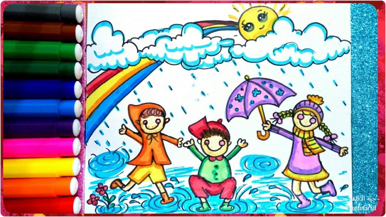 بالصور رسومات عن فصل الشتاء , اجمد الرسومات للشتاء 12183 2