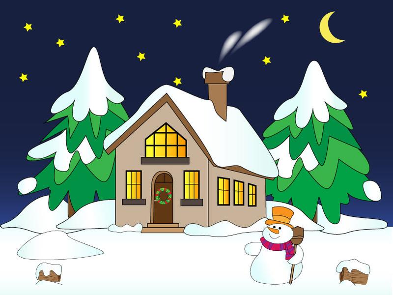 بالصور رسومات عن فصل الشتاء , اجمد الرسومات للشتاء 12183 7