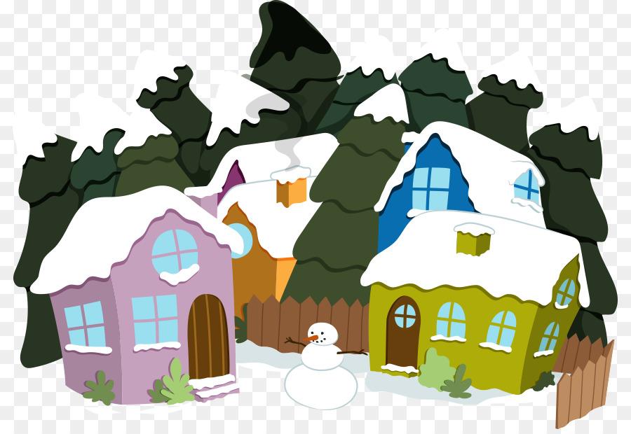 بالصور رسومات عن فصل الشتاء , اجمد الرسومات للشتاء 12183 8