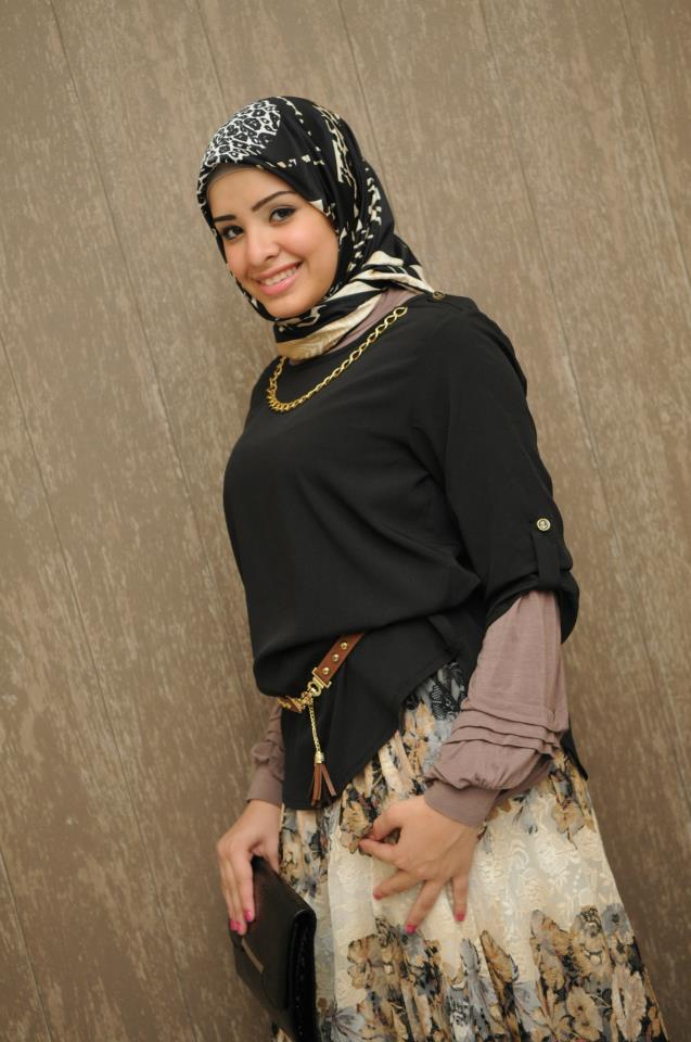 بالصور صور بنات مصرية محجبة , احلي صور بنات مصريه محجبه 12184 3