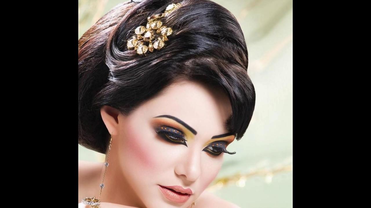 صور اجمل التسريحات والمكياج , احلي صور تسريحات شعر ومكياج للعروس