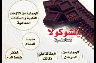 صور فوائد الشوكولاته , فوائد مزهله للشوكولاته
